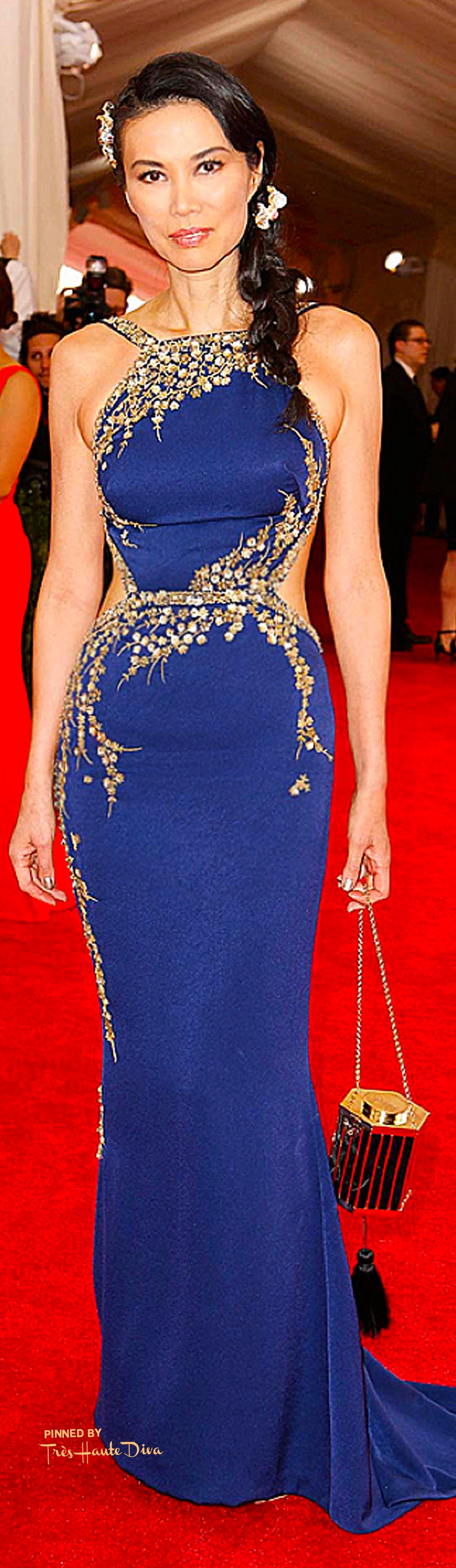 Wendi Murdoch, with Cindy Chao jewels and a Kotur clutch Indigitalimages.com/ Alessandro Garofalo