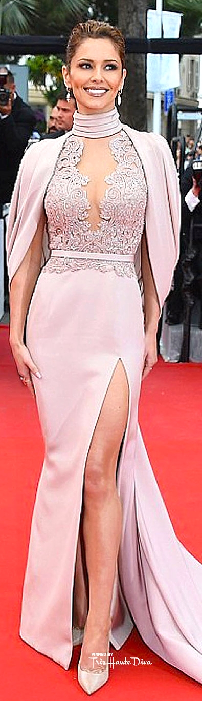 Cheryl Fernandez-Versini in a SS15 couture gown by  Ralph and Russo