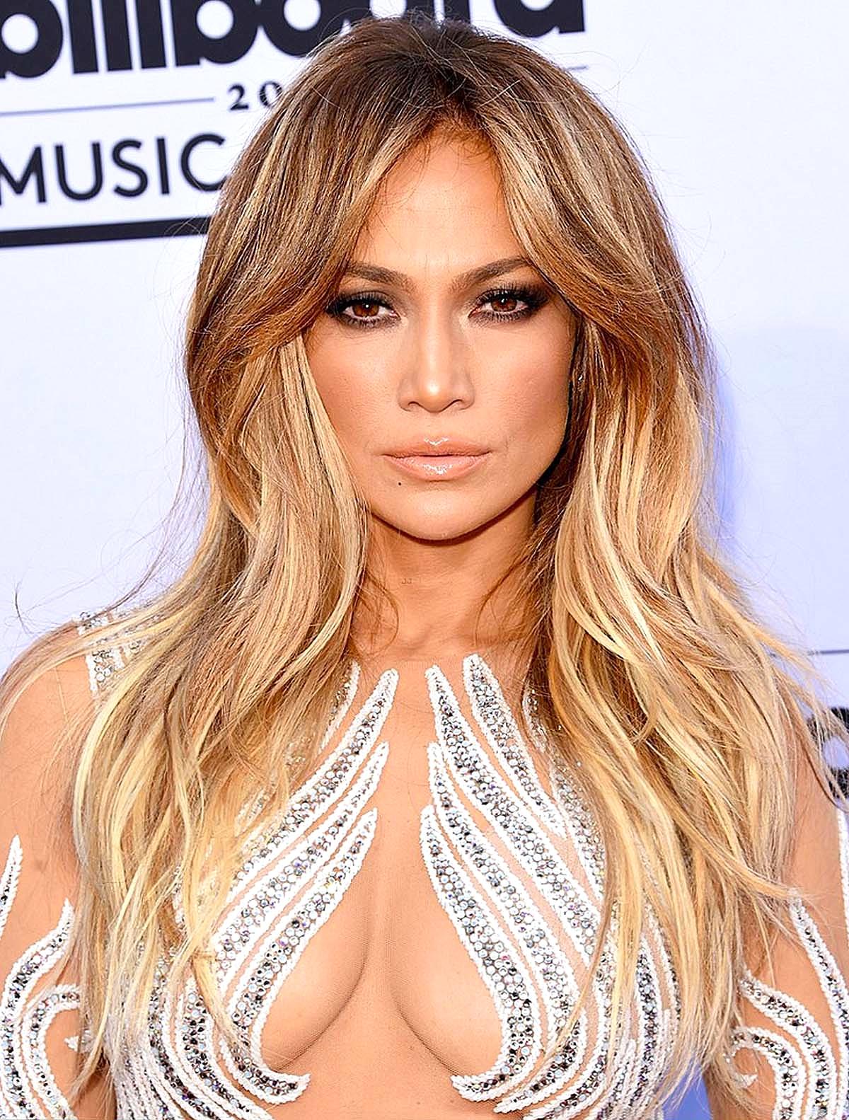 Jennifer Lopez in Charbel Zoe Couture Getty Images/ Jason Merritt
