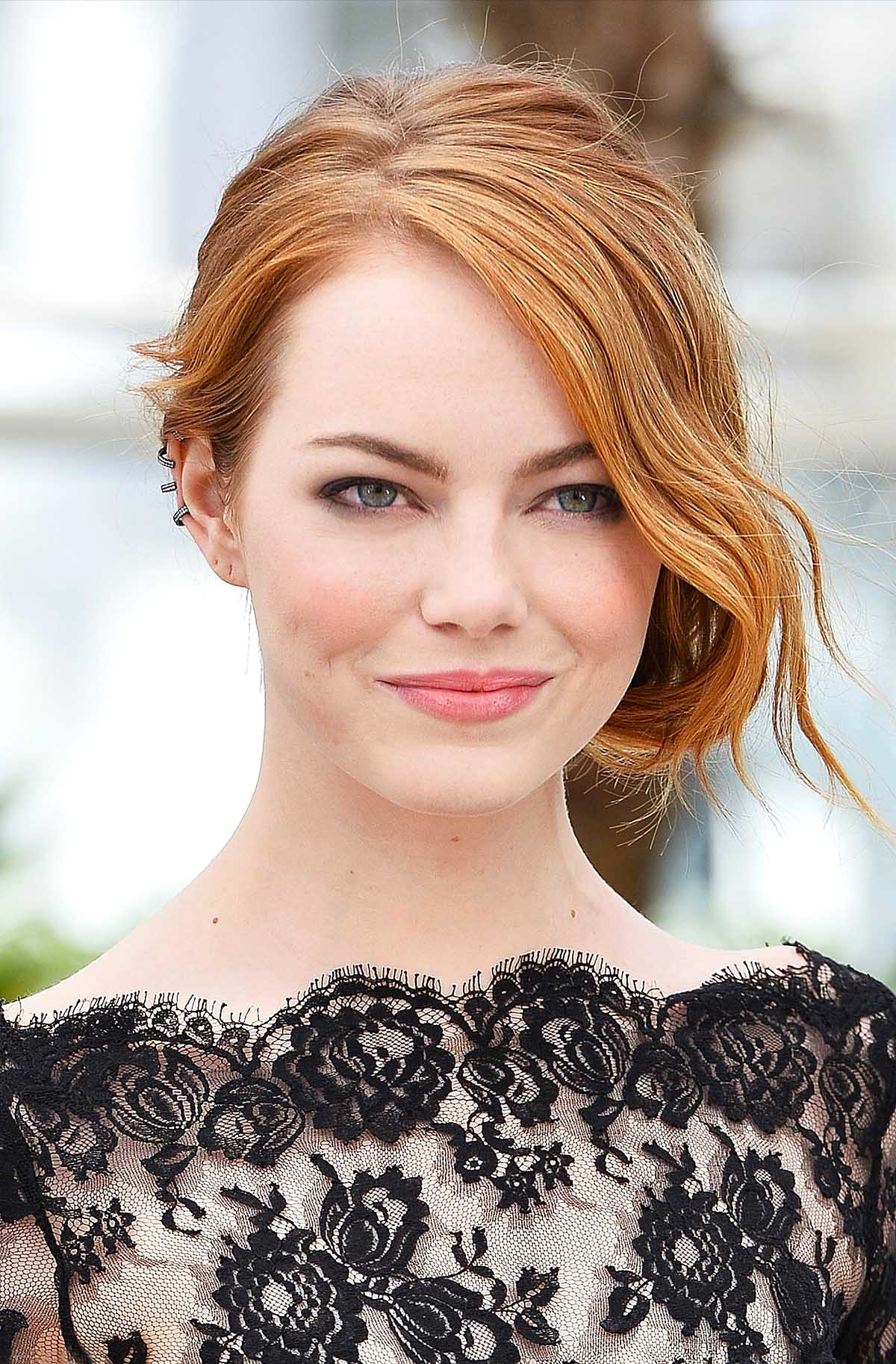 Emma Stone at the photocall for 'Irrational Man'             Photo by Getty