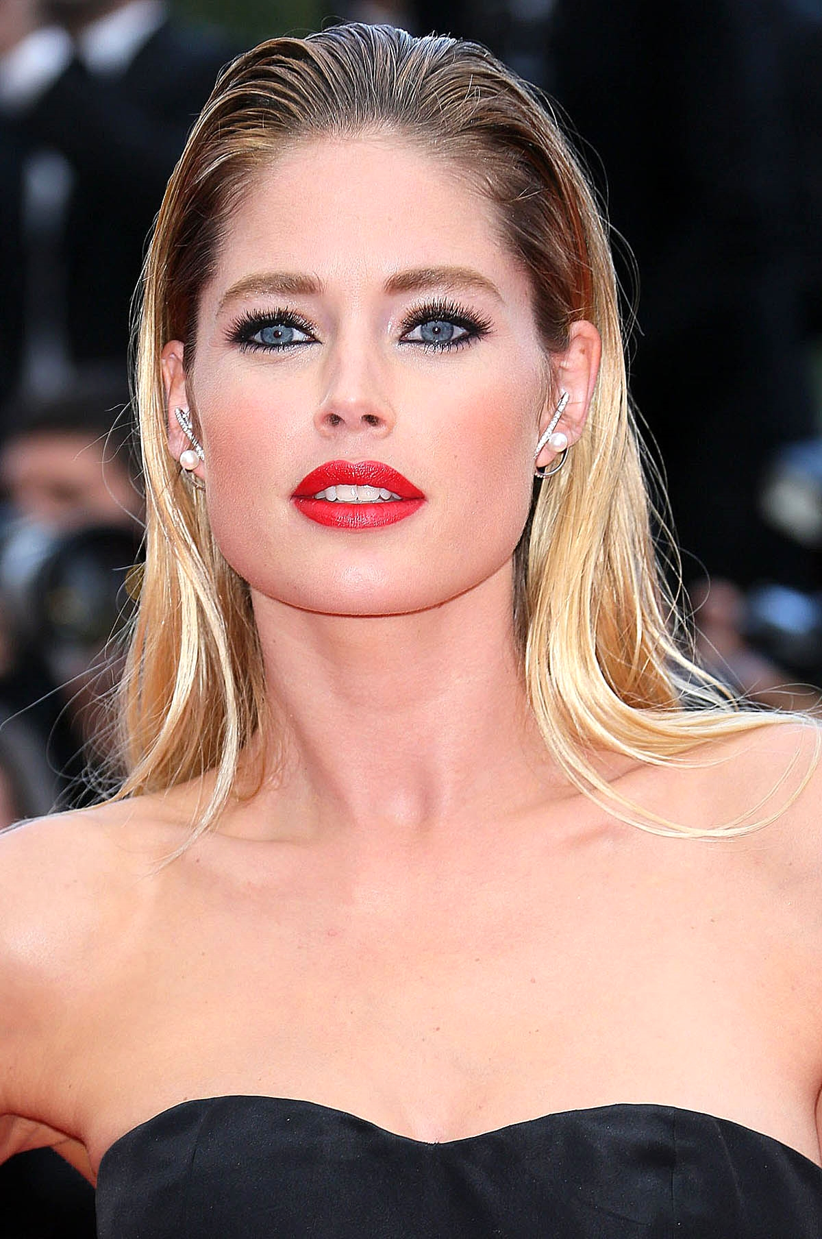 Doutzen Kroes at the 'Sicario' premiere     Photo by Getty