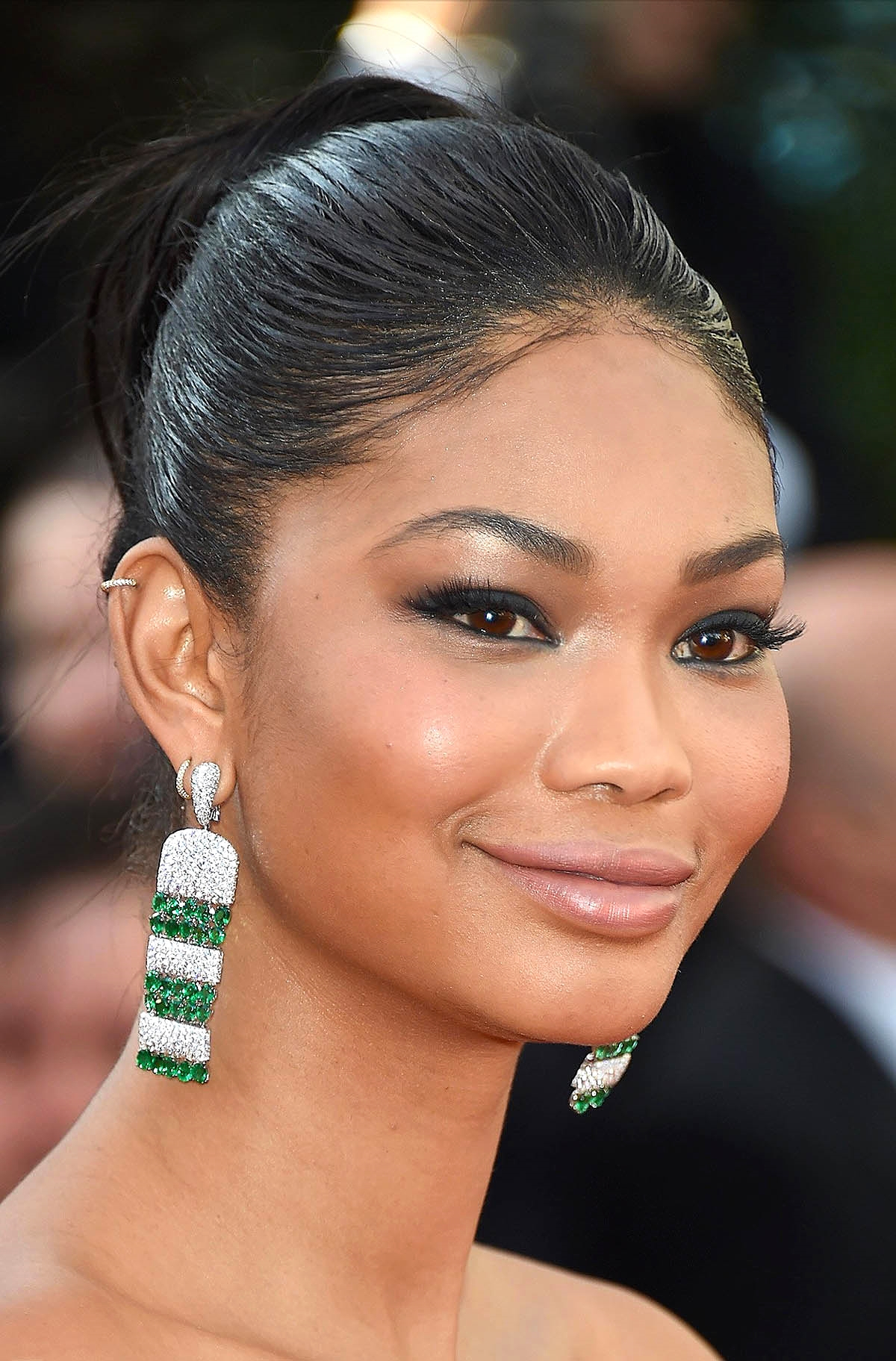 Chanel Iman at the 'Youth' premiere        Photo by Getty