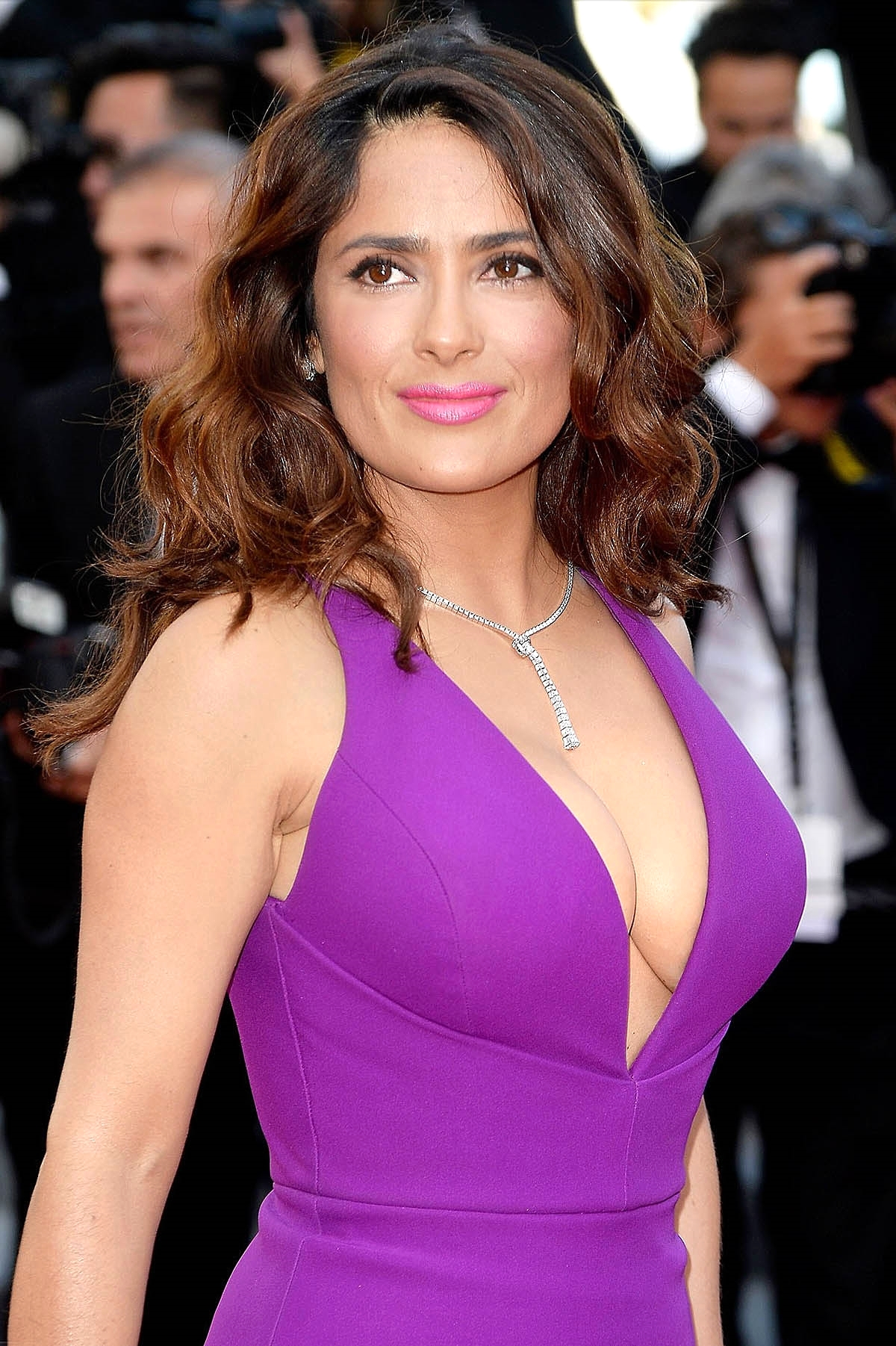 Salma Hayek at the 'Rocco and his Brothers' premiere                    Photo by Getty