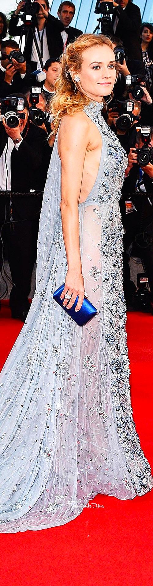 Diane Kruger in Prada                    vogue.uk.com/ Getty