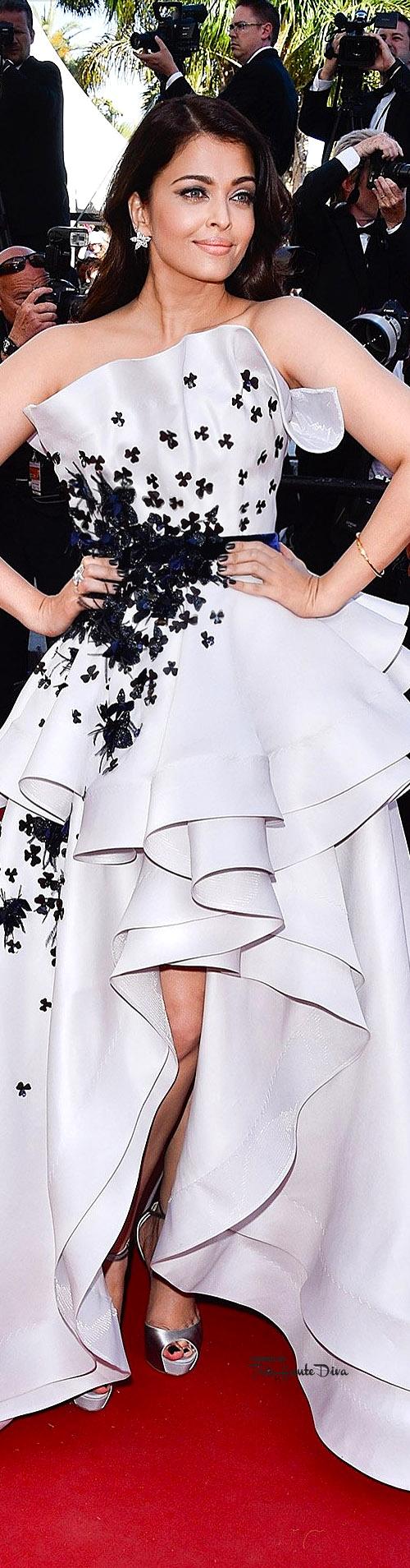 Aishwarya Rai in Ralph & Russo Couture      vogue.co.uk/ Getty
