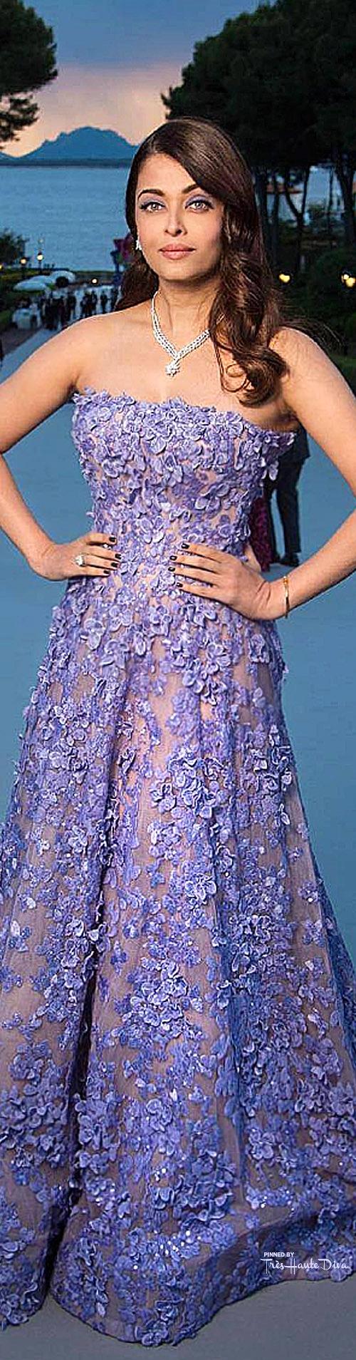 Aishwarya Rai Bachchan in Elie Saab Couture