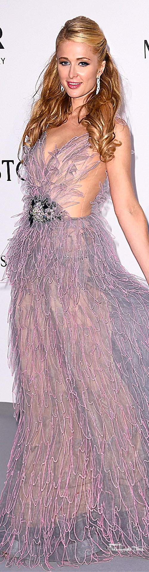Paris Hilton in Yulia Yanina  dailymail.co.uk