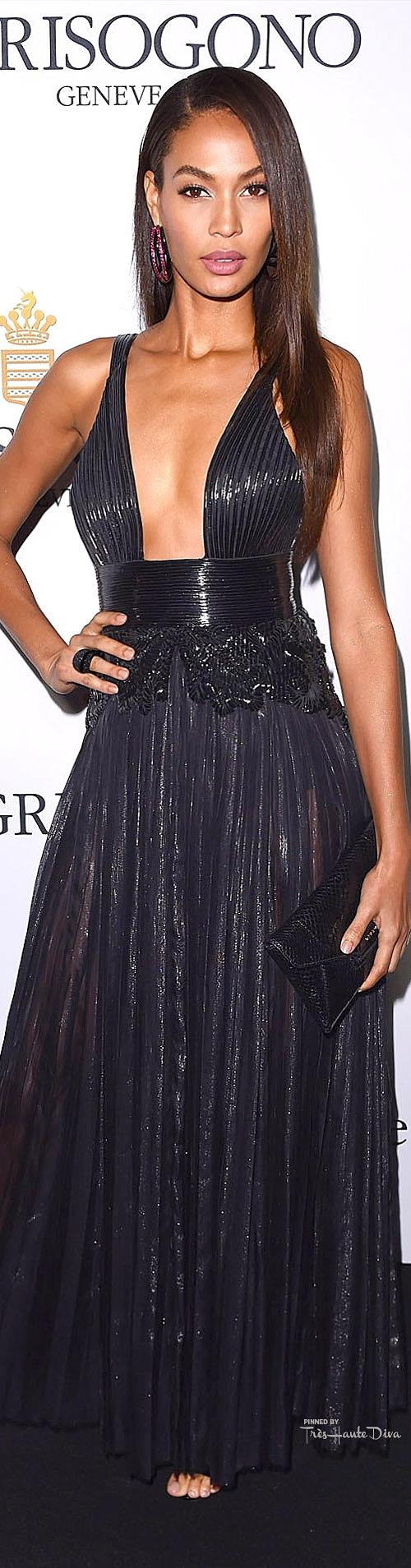 Joan Smalls in Givenchy Haute Couture by Riccardo Tisci  Rex Features