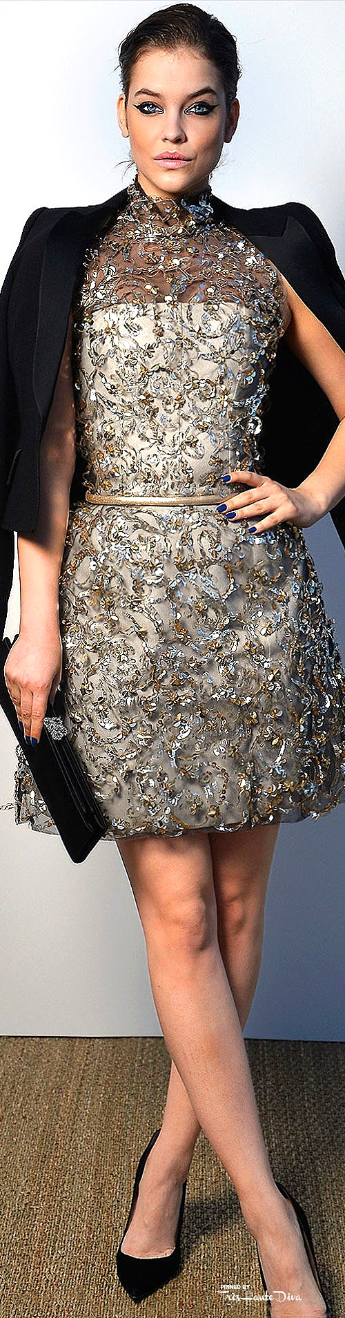 Barbara Palvin in Chanel Couture