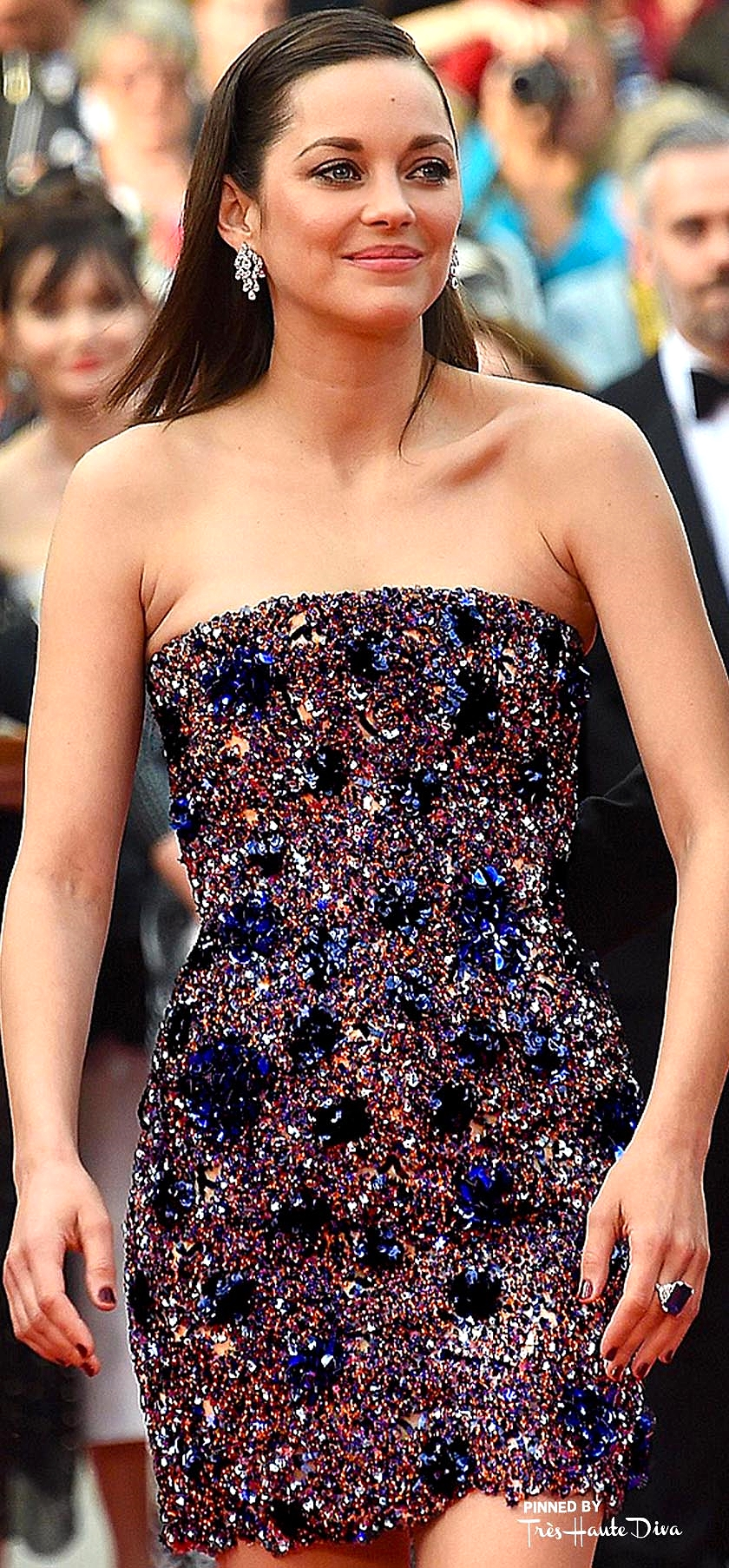Marion Cotillard in Dior Haute Couture  dailymail.co.uk