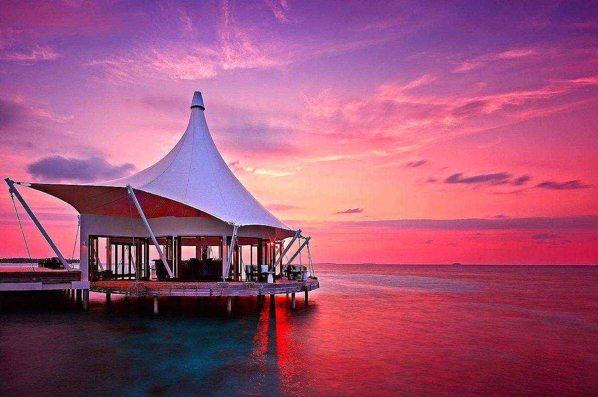 Sunset at Edge Restaurant