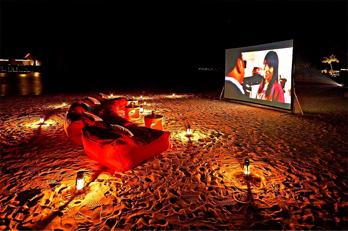 Movie Night At The Beach