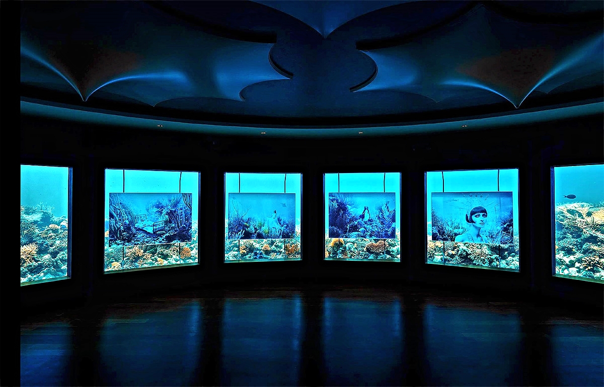 Underwater Art Exhibition at Subsix  'The Sinking World of Andreas Franke'