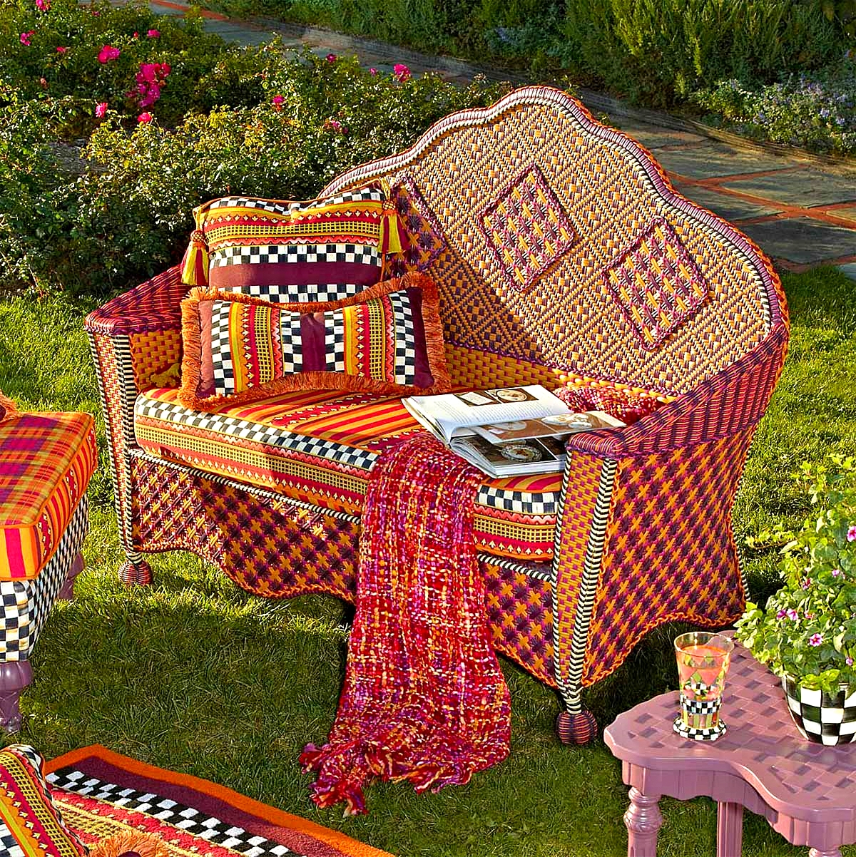 Sunset Outdoor Love seat