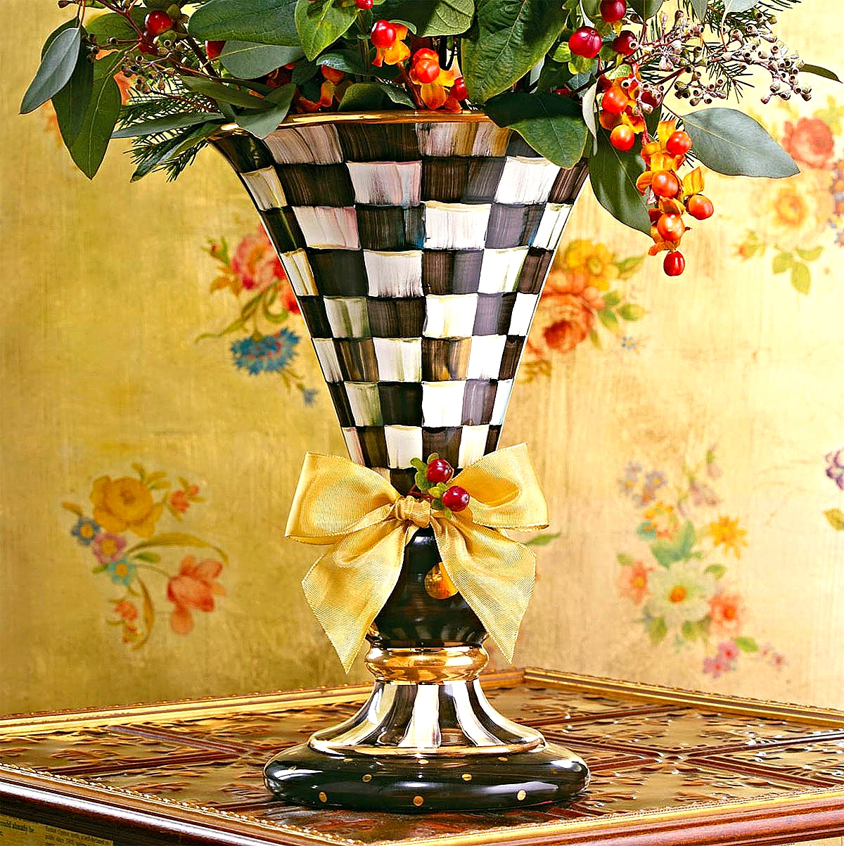Courtly Check Large Vase