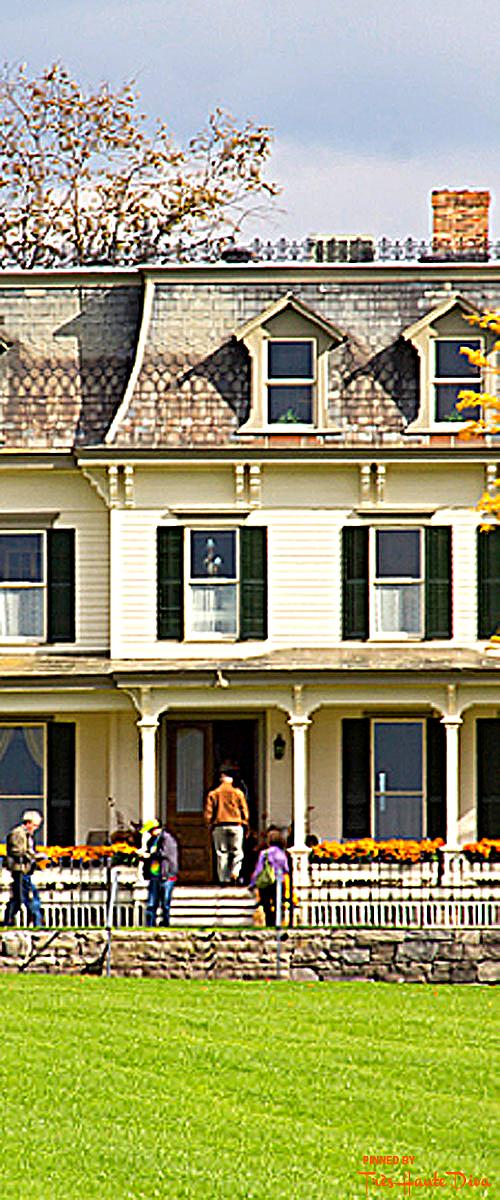 Visit the McKenzie-Childs Farmhouse in Aurora, N.Y.