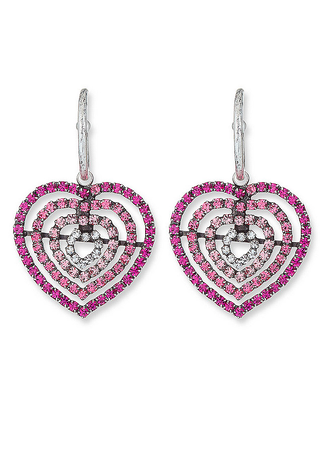 Dannijo Constance Heart Earrings