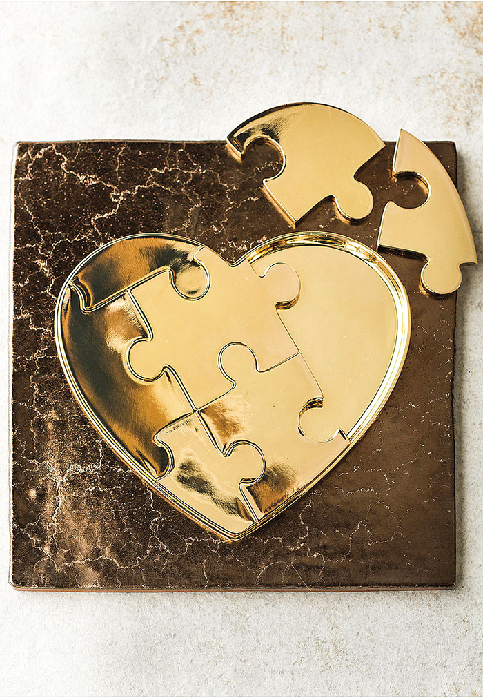 AERIN Heart Puzzle Object