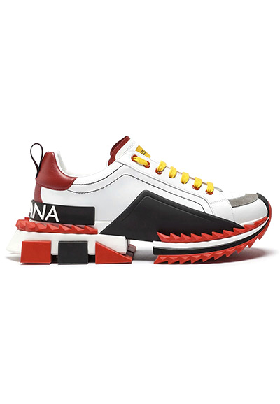 Dolce & Gabbana MULTICOLOR SUPER KING SNEAKERS