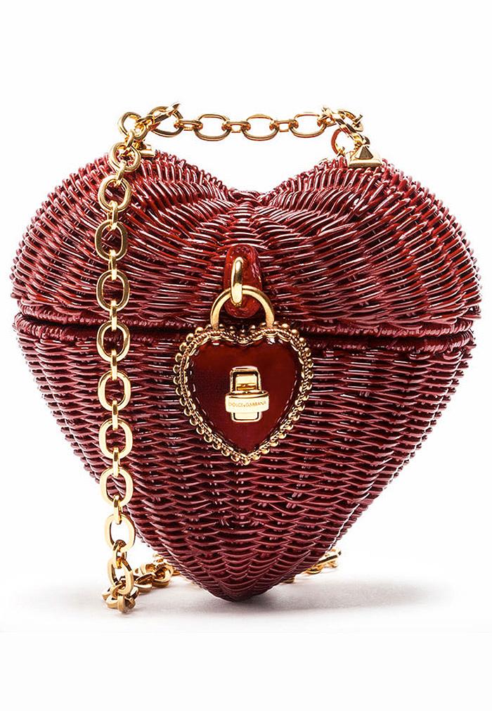 Dolce & Gabbana DOLCE HEART BOX IN MIDOLLINO DIPINTO