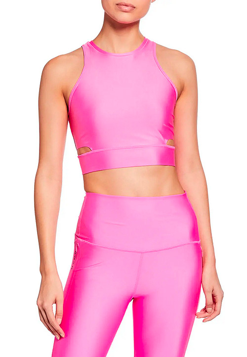 Nike High-Neck Cropped Training Tank