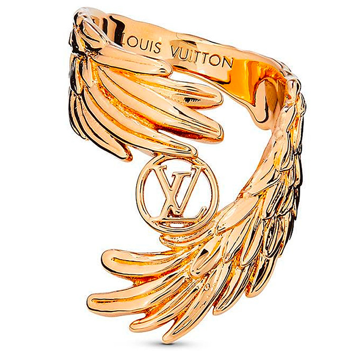 LV Angel Ring $365.00; ;part of a collection of necklaces & earrings