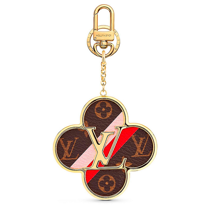 Into The Flower Bag Charm and Key Holder $435.00 Calf leather