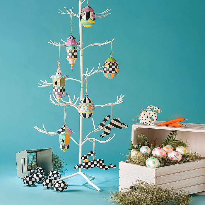 Easter Egg Tree with Ornaments