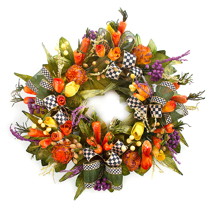24 Carrot Wreath