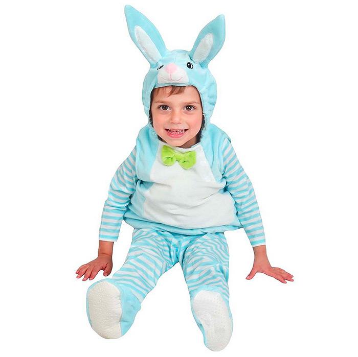 Baby Plush Bunny Costume Vest Blue - Spritz