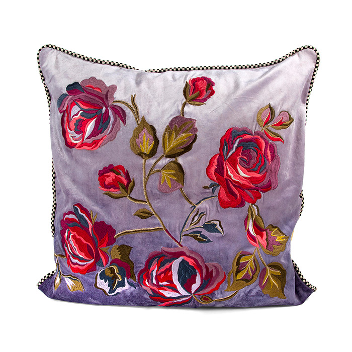 Tivoli Gardens Pillow - Lavender