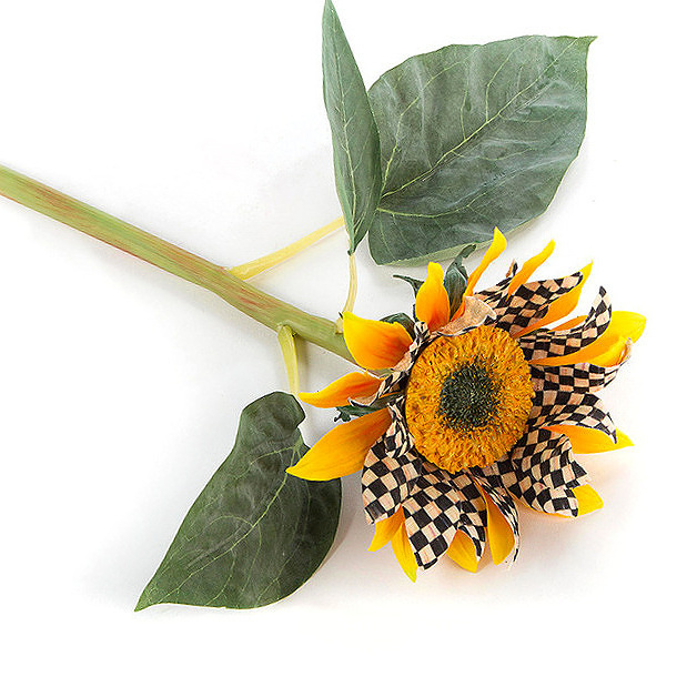 Courtly Check Sunflower