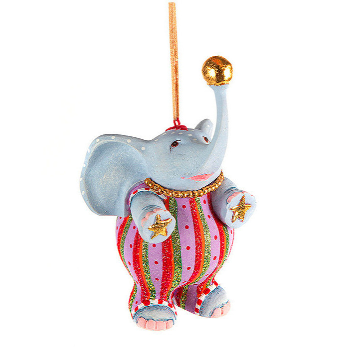 Patience Brewster Jambo Anika Elephant Ornament