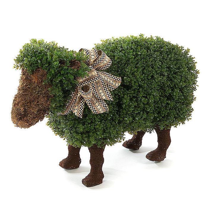 Wooly Lamb Topiary
