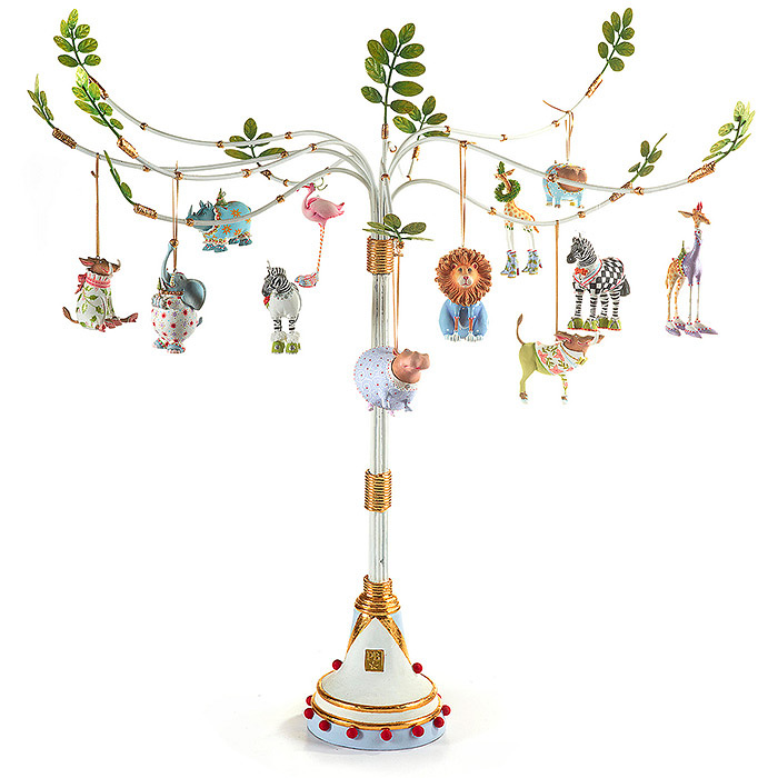Patience Brewster Jambo Mini Ornament Tree