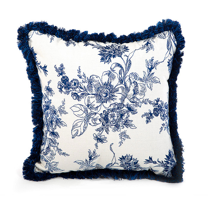 Indigo Villa Outdoor Accent Pillow