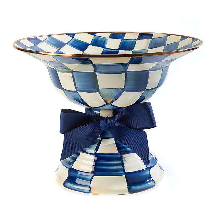 Royal Check Compote - Large