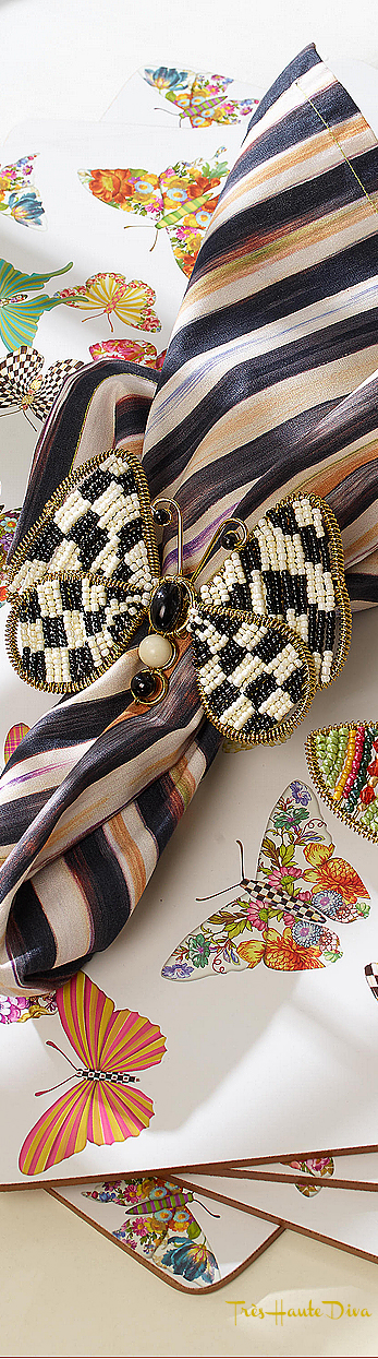 Butterfly Garden Placemats - Set of 4 via  The Design Diva