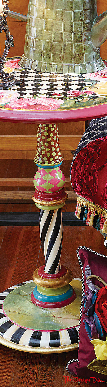 Botanica Table via  The Design Diva