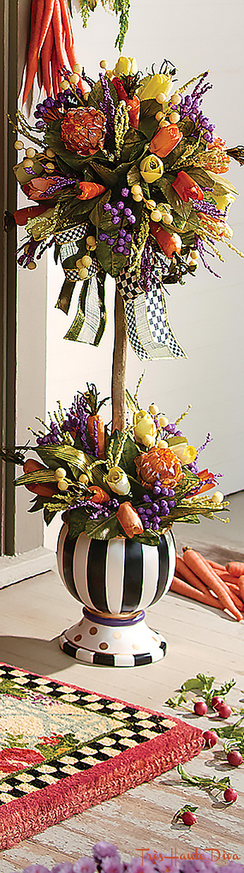 24 Carrot Topiary via  The Design Diva