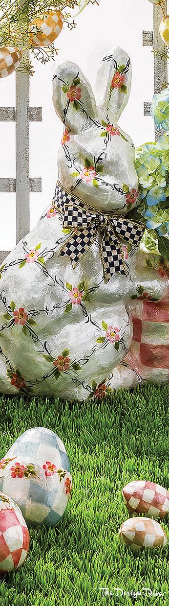 Pastel Floral Eggs Large  via The Design Diva