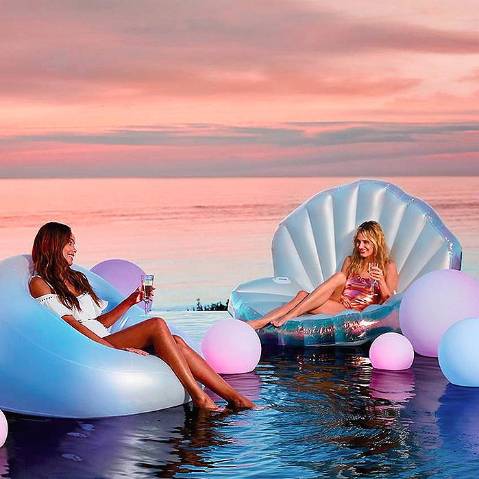 Glow Float  & Oyster Shell Float