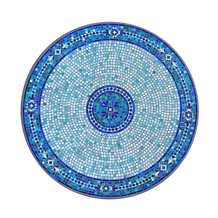 KNF - Neille Olson Mosaics Seafoam Atlas Collection