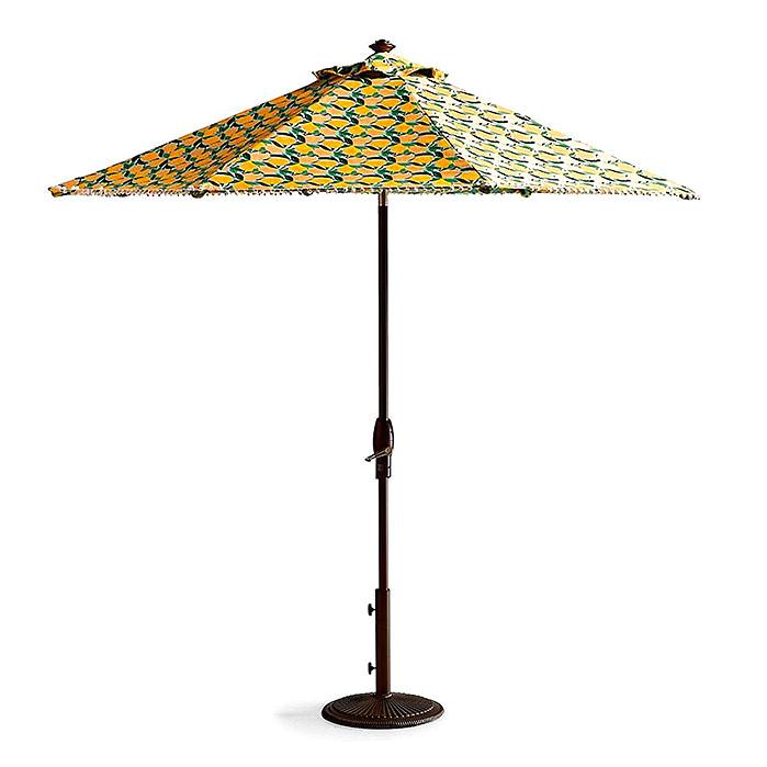 9' Lemon Designer Umbrella