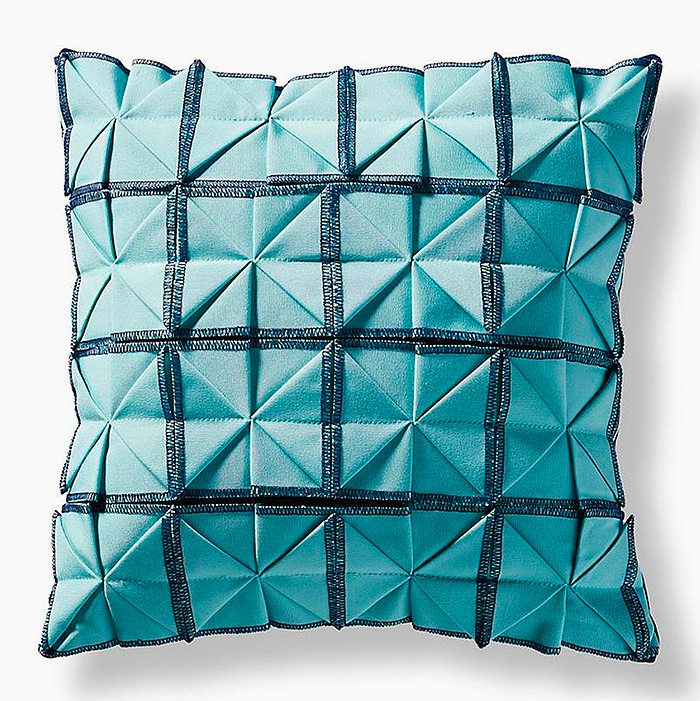 Origami Pleat Square Outdoor Pillow