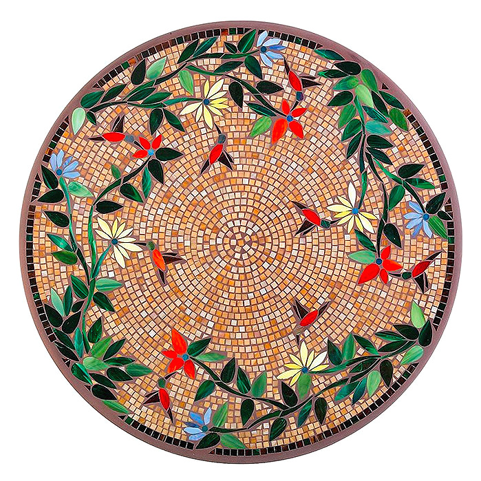 KNF - Neille Olson Mosaics Caramel Hummingbird Collection