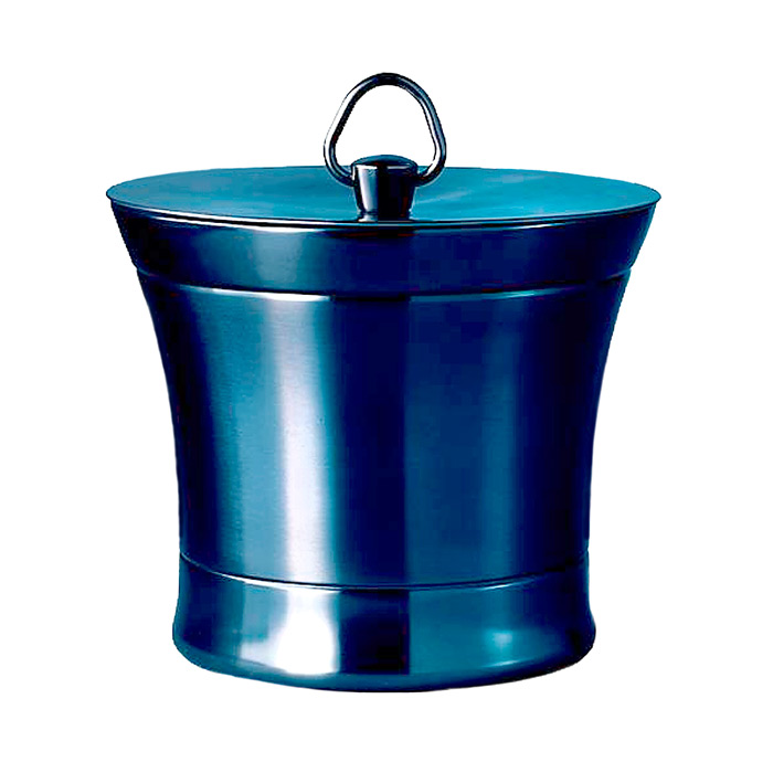 Optima Ice Bucket in Metallic Indigo