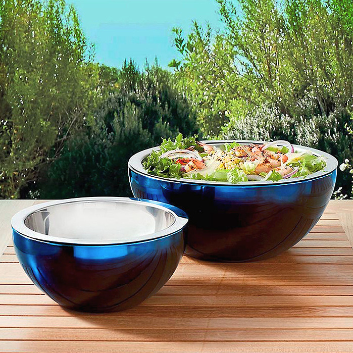 Super Chill 4 & 2-Quart Bowl in Navy