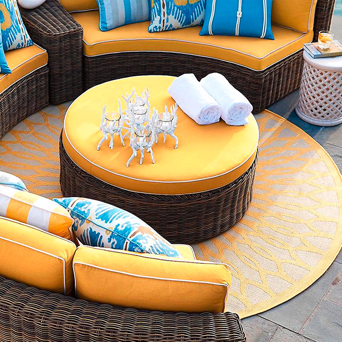 Clifton Round Indoor/Outdoor Rug