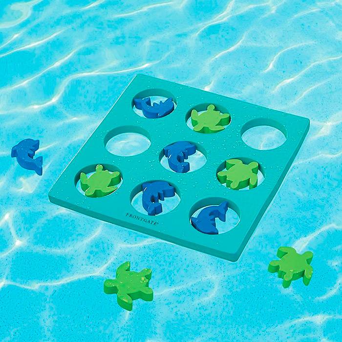 Sealife Floating Tic-Tac-Toe Pool Game